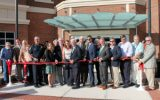 Ribbon cutting ceremony for new Lilburn City Hall